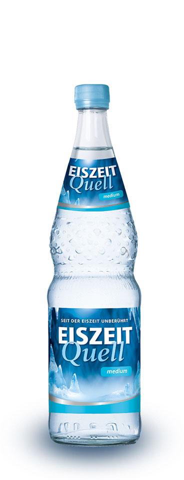 EiszeitQuell medium Glasflasche
