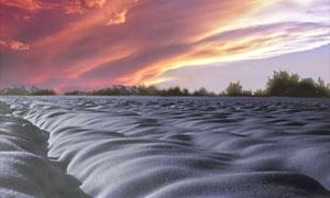 Eiszeit Landschaft