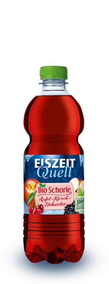 EiszeitQuell Bio-Apfel-Kirsch-Holunder