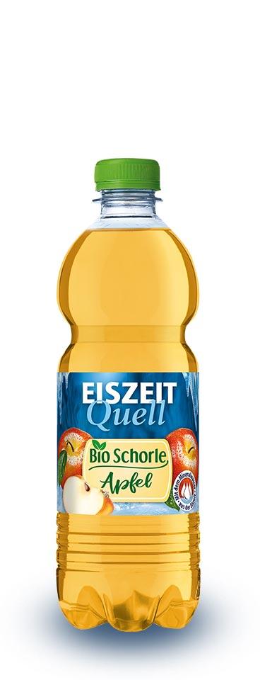 EiszeitQuell Bio-Apfelschorle
